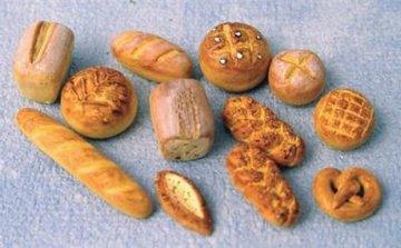 Groenten, fruit, brood