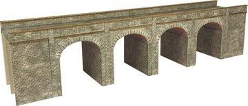 Spoorbrug en tunnelingangen voor Spoor N