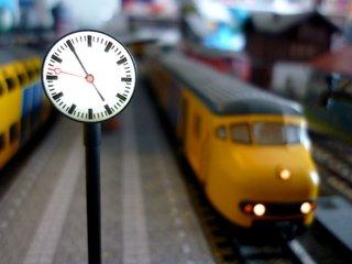Klokken voor station en stad