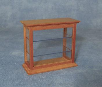 Kleine Glazen Vitrinekastjes.Vitrinekastje Met Glazen Legplanken