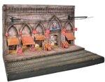 Diorama op schaal 1:22,5 voor de Istanbul tram; diorama; OC53010D; spoor G; modelbouw tram OcCre; Occre modelbouw; modelbouw; n