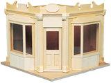 Speelgoedwinkel; gebouwde poppenhuizen, bouwpakketten van poppenhuizen of kinder poppenhuis; doe-het-zelf; poppenhuis maken; po