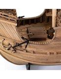 Spaanse Coca; houten modelbouw; amati; AMATI; modelbouw boot; schaal 1op60; schaal 1:60; Amati; modelbouw schepen voor beginner