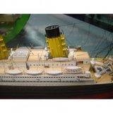 Mantua; Titanic; Houten bouwmodel; houten modelbouw; modelbouw boot;