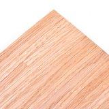 Rood eiken houten fineer vloer, schaal 1:12_