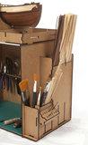 Gereedschapskist/montagekast; Gereedschapset; modelbouw schepen; OcCre; Occre modelbouw; modelbouw; nederlandse bouwbeschrijvin