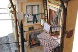 Diorama op schaal 1:22,5 voor de Lisboa tram; diorama; 53005; Tram Lisboa; spoor G; modelbouw tram OcCre; Occre modelbouw; mode