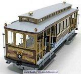 San Fransisco kabel tramwagen voor spoor G; 53007; San Francisco; spoor G; modelbouw tram OcCre; Occre modelbouw; modelbouw; ne