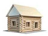 hobby en modelbouw; Variobox 72 stuks; W20;  Walachia; houten speelgoed, houten modelbouw, schaal 1:32; 1:32; modelbouw; blokke