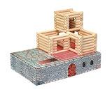 hobby en modelbouw; Variobox Forte 194 stukjes; W22; Walachia; houten speelgoed, houten modelbouw, schaal 1:32; 1:32; modelbouw