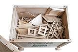 hobby en modelbouw; Variobox 378 stukjes (XL+Forte); W23; Walachia; houten speelgoed, houten modelbouw, schaal 1:32; 1:32; mode