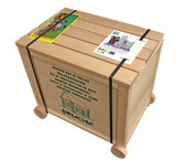 Hobby en modelbouw; Variobox 450 stukjes (Vario+XL+Forte}; W24; Walachia; houten speelgoed, houten modelbouw, schaal 1:32; 1:32