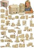 hobby en modelbouw; Walachia; houten speelgoed, houten modelbouw, schaal 1:32; 1:32; modelbouw; Vario Massive box 418 stukjes;