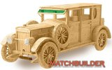 Matchbuilder,bouwen met lucifers,modelbouw met lucifers,lucifer bouwpakket; Hispano Suiza; bouwen met lucifers, modelbouw met l