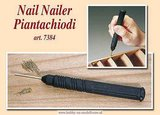 hobby en modelbouw; Messing nagels 10 mm.; AMATI; nagelduwer,spijkerduwer,nageldrijver; modelbouwer; miniaturisten.