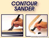 Fijne reserve schuurstroken voor Contour Sander_