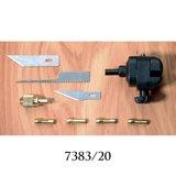 Meshouder, pentang, handbankschroef combinatie; AMATI; snijgereedschap; modelbouw gereedschap; miniatuur gereedschap; modelbouw