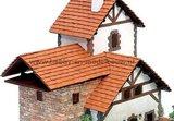 stenen dakpannen; domuskits; domus kits; Poppenhuis; schaal 1 op 12: 1op12; poppenhuis dakbedekking; dakbedekking; dakshingles;