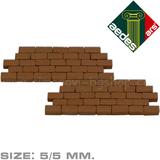 Bakstenen, AE22191; aedes ars; Poppenhuis; poppenhuis dakbedekking; dakbedekking; dakshingles; bouwelementen poppenhuis;