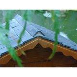 Nokpan; dakbedekking; stenen dakpannen poppenhuis; modelbouw dakpannen; mini dakpannen; Poppenhuis; schaal 1 op 12: 1op12; popp
