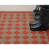 Victoriaanse tegels 8.5*8.5*2 mm, kleur: victorian red_