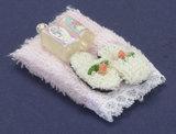Handdoekenset met lotion_