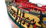 Nuestra Señora del pilar; oc15001; modelbouw; OcCre; Nederlandse bouwbeschrijving. 15001; occre; modelbouw; modelbouwsch