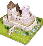 Aedes Ars; 1016; miniatuur kastelen; modelbouw kastelen;  miniatuur burchten; modelbouw burchten; echte steentjes; keramische s