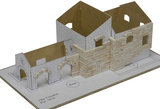 Aedes Ars; AE1419; Toscaanse villa; miniatuur diarama; modelbouw diarama;  miniatuur burchten; modelbouw burchten; echte steent