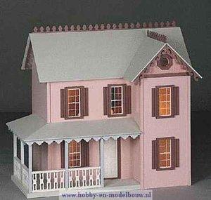 Populair Poppenhuis-bouwpakketten - www.hobby-en-modelbouw.nl &QW41