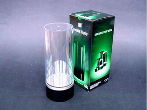Kunststof draaibaar display diam. 84 mm*200 mm