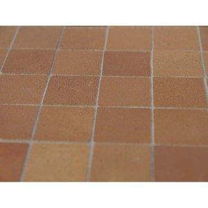 Plavuizen 13*13*2 mm vierkant, kleur Tan