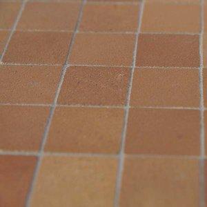Plavuizen 19*19*2 mm vierkant, kleur Tan