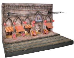 Diorama op schaal 1:24 voor de Istanbul tram
