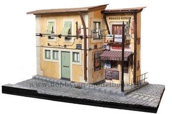 Diorama op schaal 1:22,5 voor de Lisboa tram