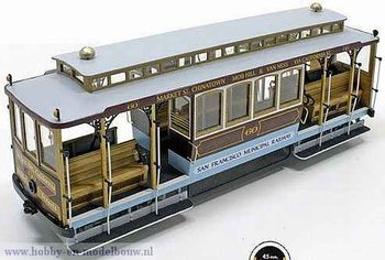 San Fransisco kabel tramwagen voor spoor G