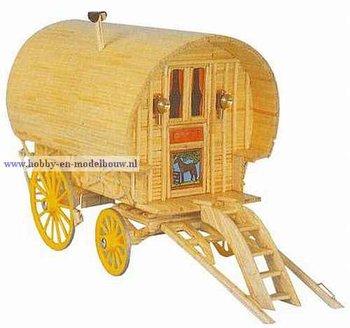 Woonwagen/zigeunerwagen 1