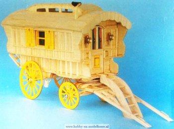 Woonwagen/zigeunerwagen 2