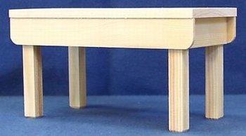 Werktafel met dik blad