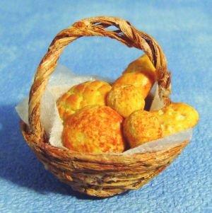 Mandje brood met 6 broodjes