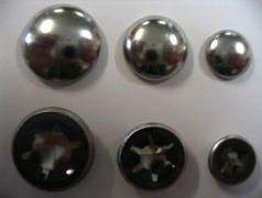 Asborgers met bolle kap 6.35 mm