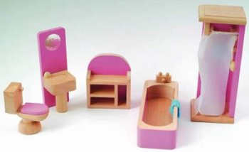 Badkamer set met Barbie roze details