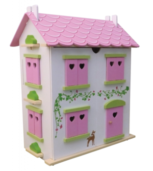 Candy Cottage Poppenhuis