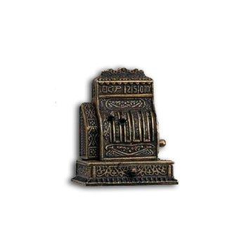 Metalen antieke kassa