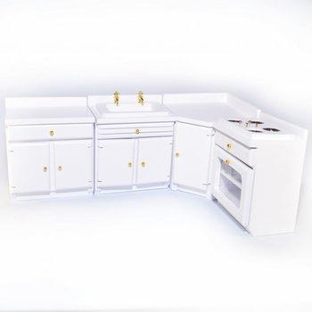 Witte keukenset