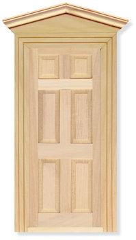 Buitendeur met panelen
