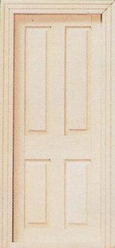 Binnendeur met 4 panelen