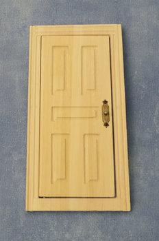blank houten paneeldeur