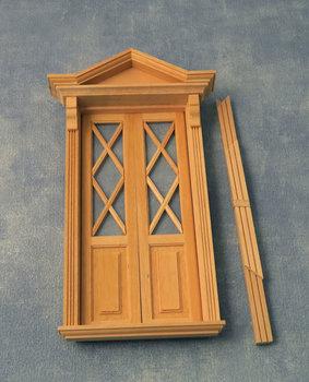 Diamonds Window door