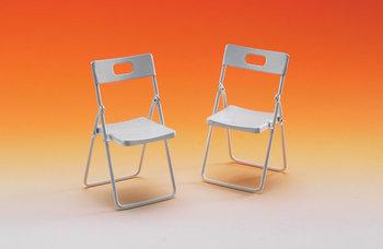 Set van 2 kunststof stoeltjes